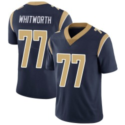 Andrew Whitworth Los Angeles Rams Men's Limited Team Color Vapor Untouchable Nike Jersey - Navy