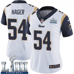 Bryce Hager Los Angeles Rams Women's Limited Super Bowl LIII Bound Vapor Untouchable Nike Jersey - White
