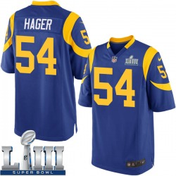 Bryce Hager Los Angeles Rams Youth Game Alternate Super Bowl LIII Bound Nike Jersey - Royal