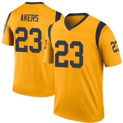 Cam Akers Los Angeles Rams Men's Color Rush Legend Nike Jersey - Gold