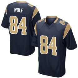 Ethan Wolf Los Angeles Rams Youth Game Team Color Nike Jersey - Navy