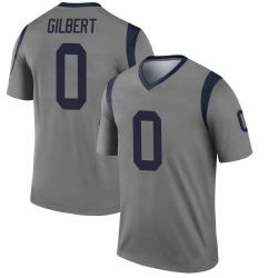 James Gilbert Los Angeles Rams Youth Legend Inverted Nike Jersey - Gray