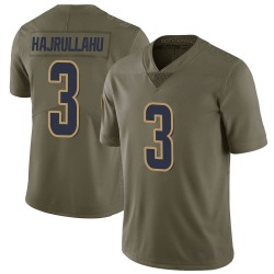 Lirim Hajrullahu Los Angeles Rams Youth Limited Salute to Service Nike Jersey - Green