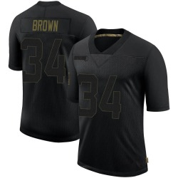Malcolm Brown Los Angeles Rams Youth Limited 2020 Salute To Service Nike Jersey - Black